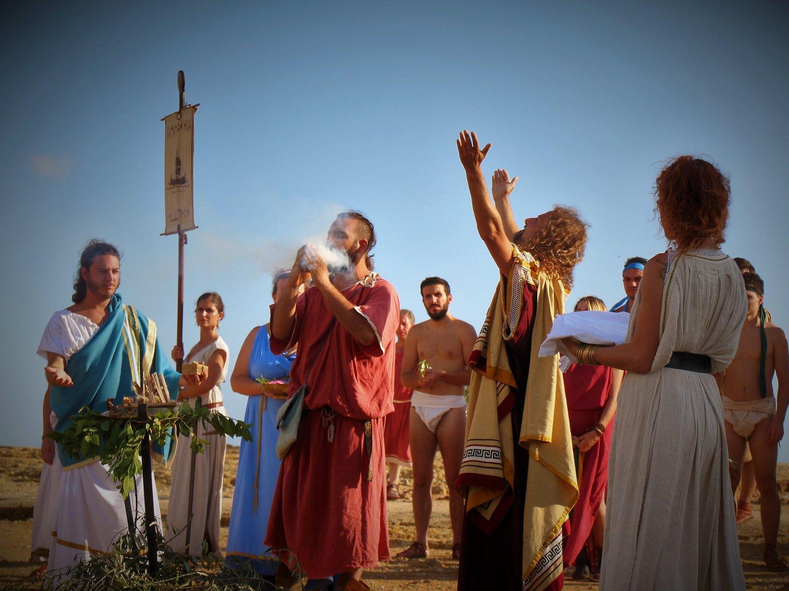 Empedocle-celebrazione rito